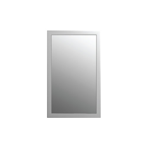 Otto Mirror - White Wood Frame