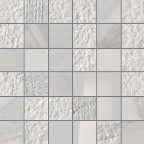 "Apuano 2""x2"" on 12""x12"" Sheets Mosaic Mix"