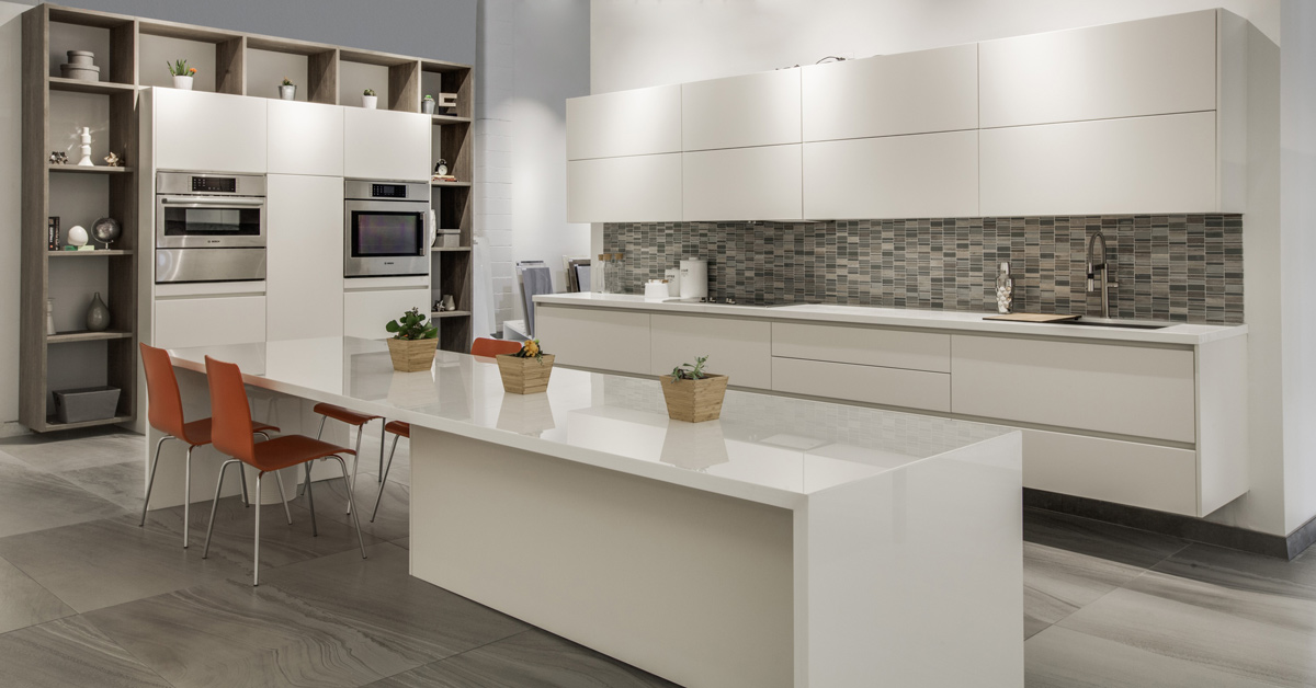 White Kitchen No Handles comfort: kitchen cabinets without door handles - eleganza studio